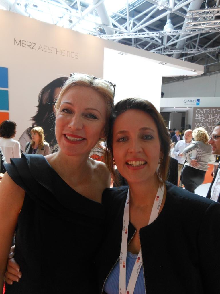 Jag och min underbara förra chef Silvia Scheerer.