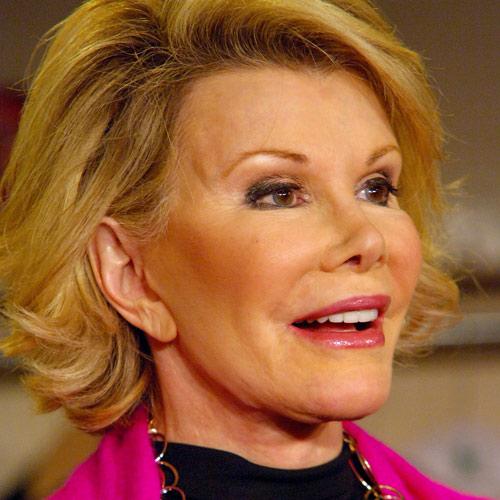 Joan River som förlorat sig själv och sitt utseende.