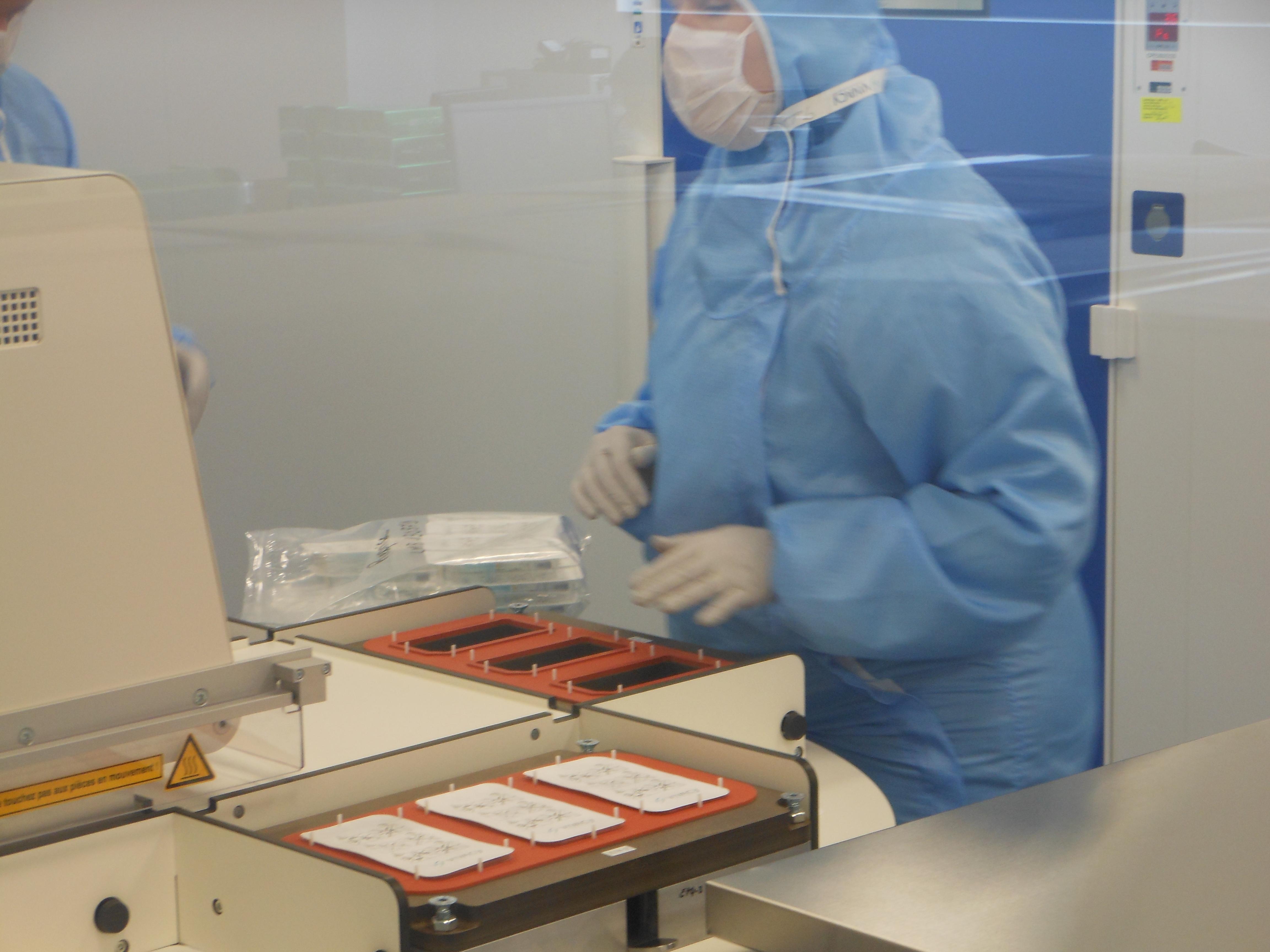 Laboratoires Vivacy´s fabrik i Frankrike där de tillverkar hudfillern Stylage som innehåller syntetisk hyaluronsyra.