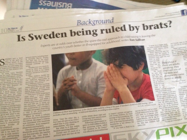 Så ser dom på oss: Sverige styrs av bortskämda ungar